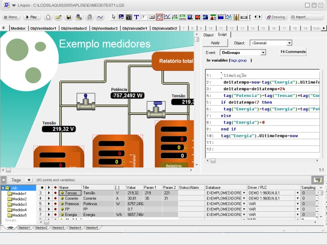 LAquis 4 1 - SCADA software - Supervisory Control and Data